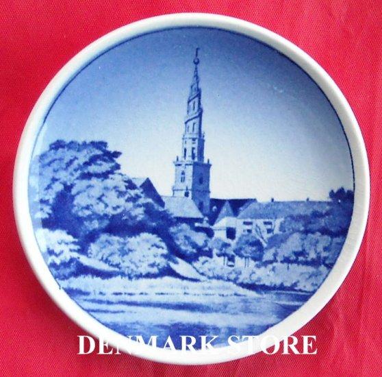Vor Frelsers Kirke Vintage Danish Aluminia Royal Copenhagen Mini Plate 10 2010
