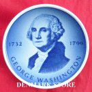 Aluminia Royal Copenhagen Small Fajance Plate GEORGE WASHINGTON