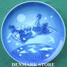 Collectors Danish Royal Copenhagen Denmark Millennium Plate 2001