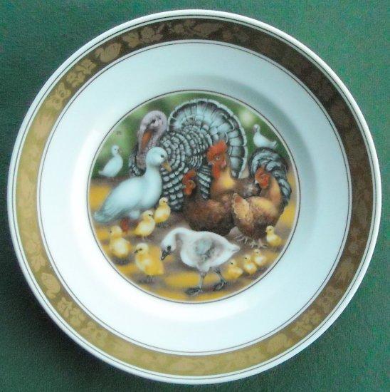 H C Andersen Ugly Duckling Royal Copenhagen Denmark Plate
