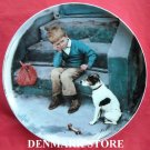 Vintage Bing & Grondahl Copenhagen First Issue Kurt Ard Moments Plate 1984