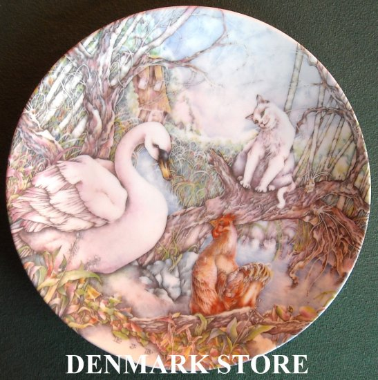 Ugly Duckling Plate Grande Copenhagen Denmark Karen Jean Bornholt 1986