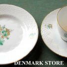 Danish Bing & Grondahl Copenhagen BIG 17 cup saucer and plate set