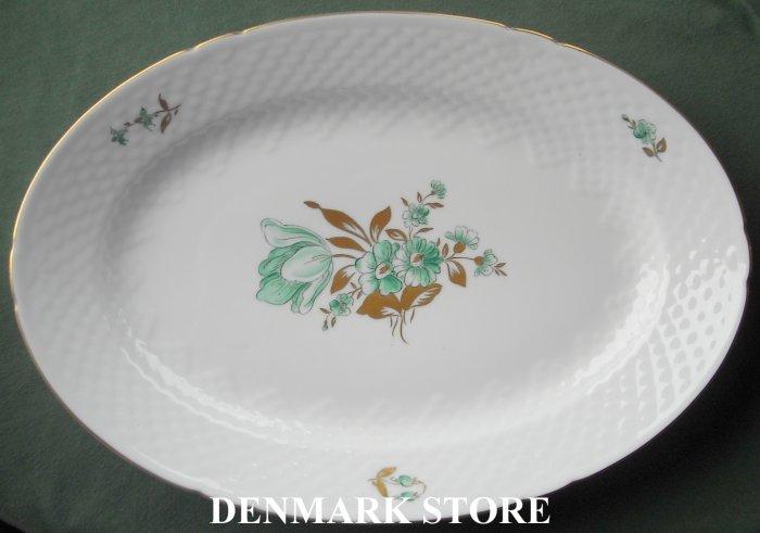 Danish Bing & Grondahl Copenhagen BIG 17 Large Dish Oval Plate