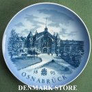 Danish Royal Copenhagen Denmark limited edition plate OSNABRUCK 1985