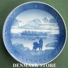 Danish Royal Copenhagen Denmark christmas plate 1968