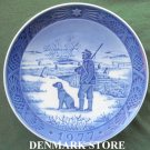 Danish Royal Copenhagen Denmark christmas plate 1977