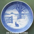 Danish Royal Copenhagen Denmark christmas plate 1971