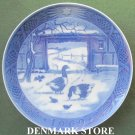 Danish Royal Copenhagen Denmark Christmas Plate 1969