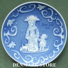 Danish Royal Copenhagen Denmark Mothers day plate 1971