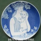 Danish Royal Copenhagen Denmark Mothers day plate 1979