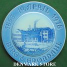 Danish Bing & Grondahl Copenhagen Jubilee plate 1978