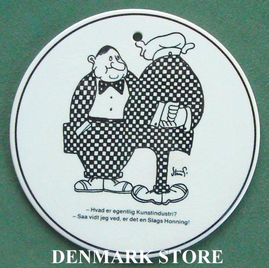 Danish Knabstrup Denmark Storm P wall plate 8522