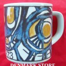 Danish Royal Copenhagen Denmark large annual mug 1973