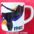 Royal Copenhagen Denmark Large Annual Mug 1982