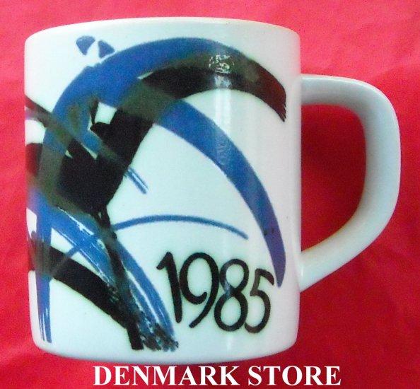 Danish Royal Copenhagen Denmark Large Annual Mug 1985