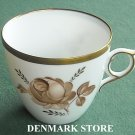 Royal Copenhagen Denmark 688 Brown Rose Coffee Cup
