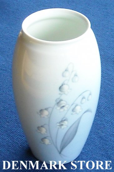 Vintage danish Bing & Grondahl B&G Copenhagen Lily of the valley  vase