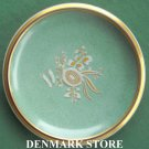 Rare Danish Royal Copenhagen Denmark Crackle Gold Bowl Dish