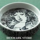 Danish Bjorn Wiinblad Nymolle Louise Medium Bowl Dish Black