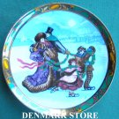 Danish Royal Copenhagen Denmark Christmas In Denmark Plate 1993