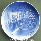 Danish Bing & Grondahl Copenhagen Christmas in Church plate 1968