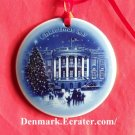 Bing & Grondahl Copenhagen Christmas in America White House ornament 1987