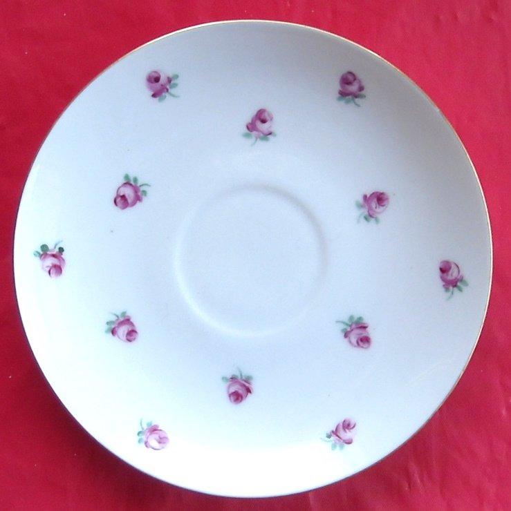 Bing & Grondahl Copenhagen BG Roselil Saucer Plate