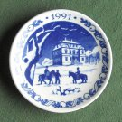 Danish Royal Copenhagen Denmark Christmas Mini Plate 1991