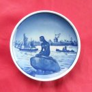 Little Mermaid Langelinie Vintage Danish Aluminia Royal Copenhagen plate 2 - 2010