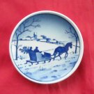 Winter Wonderland Vintage Danish Aluminia Royal Copenhagen plate 3 - 2010