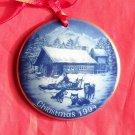 Danish Bing & Grondahl Copenhagen Christmas in America Christmas in Alaska ornament 1994