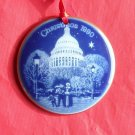 Bing & Grondahl Copenhagen Christmas in America The Capitol ornament 1990