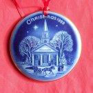 Bing & Grondahl Copenhagen Christmas America New England ornament 1989