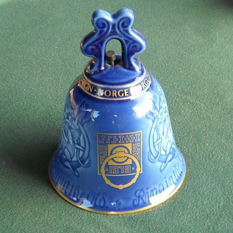 Bing Grondahl Denmark Borgund Stavkirke Year Bell 1979