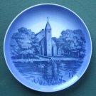 Vintage Kaj Lange Royal Copenhagen Denmark Maribo Domkirke church plate