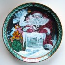 Danish Bing & Grondahl Santa Claus Collection On The Roof plate 1992
