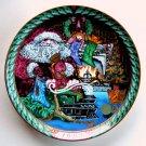 Bing Grondahl Santa Claus Collection Santas Gifts Plate 1993