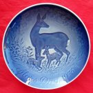 Danish Bing & Grondahl Copenhagen Mothers Day Plate DOE 1975