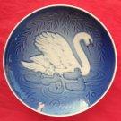Danish Bing & Grondahl Copenhagen Mothers Day Plate SWAN 1976