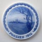 Bing & Grondahl Royal Copenhagen B&G Paasken Easter Plate 1916