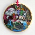 Danish Bing & Grondahl Copenhagen Denmark Santa Claus Christmas Ornament 1993