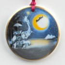 Bing Grondahl Santa Christmas Around The World Ornament 1996