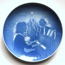 Danish Bing and Grondahl Copenhagen Denmark Christmas plate 1971