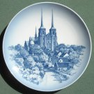 Vintage Danish Royal Copenhagen Denmark Roskilde church plate