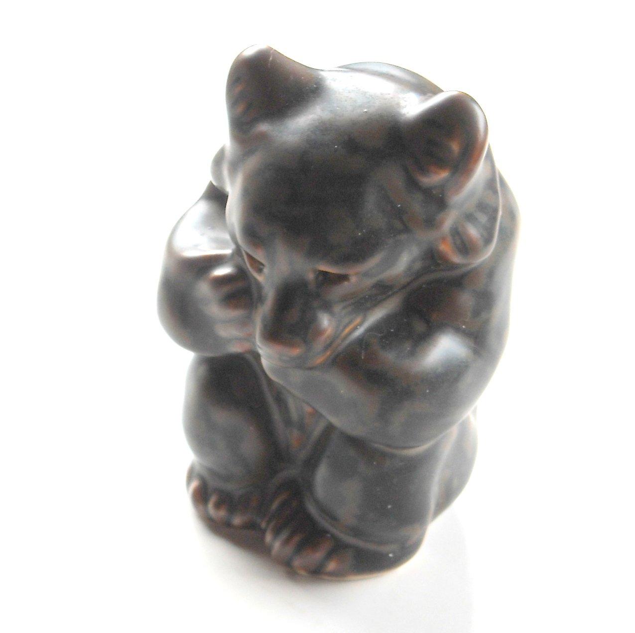 Knud Kyhn Bear Cub Brown Royal Copenhagen Figurine
