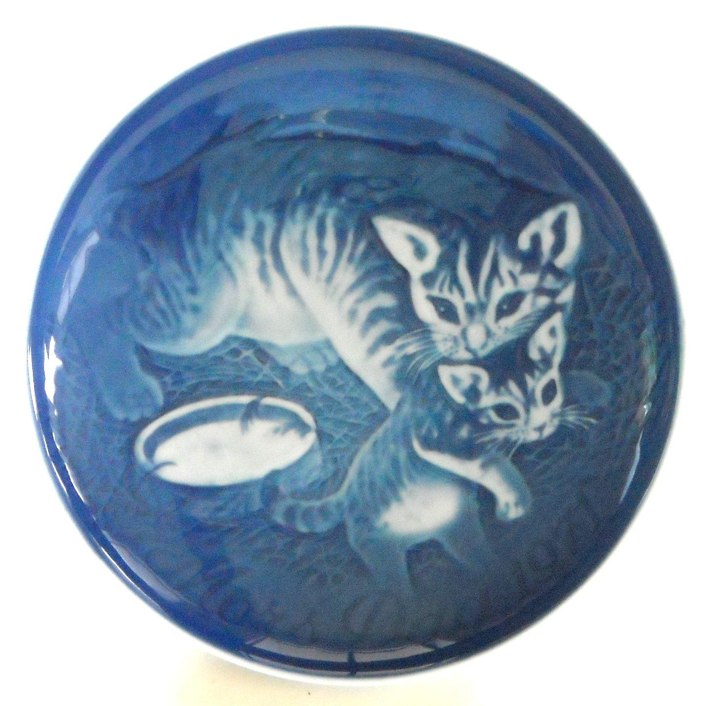 Mother's Day Plate Danish Bing & Grondahl Denmark Cat and Kitten 1971