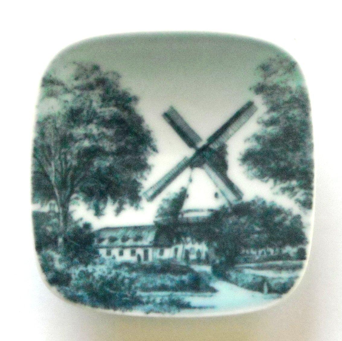 Dybbol Molle Bing Grondahl Copenhagen Denmark Small Plate Ornament