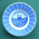 Aluminia Copenhagen Storkerede Vintage Danish 1959 Plate