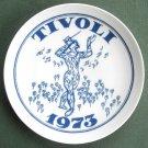 Danish Tivoli Denmark Plate HARLEKIM 1973